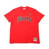 Mitchell & Ness Old English T-Shirts CHI.Bulls RED SSTEEF18024-CBU画像