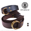 vasco LEATHER RING BELT COW HIDE VS-600画像