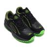 adidas Originals YUNG-96 CHASM TRAIL CORE BLACK/GREY SIX/SOLAR GREEN画像