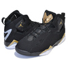 NIKE JORDAN TRUE FLIGHT black/metallic gold-wolf grey 342964-070画像