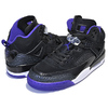 NIKE JORDAN SPIZIKE black/court purple-anthracite 315371-051画像