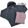 Two Moon Loopwheel Body Freedom Sleeve Fastener Front Hoody 16504画像