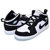 NIKE AIR JORDAN 1 MID SE(GS) GROW IN THE DARK wht/blk-teal tint BQ6931-103画像