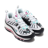 NIKE W AIR MAX 98 PURE PLATINUM/AURORA GREEN-BLACK AH6799-065画像