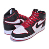 NIKE AIR JORDAN 1 HI OG (GS) BLOODLINE black/gym red-white 575441-062画像