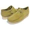 Clarks WALLABEE LO BOOT KHAKI SUEDE 26146513画像
