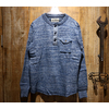 "SUGAR CANE FICTION ROMANCE ""4NEEDLES INDIGO HENLEY NECK T-SHIRT"" SC68348画像"