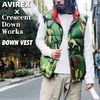 AVIREX × Crescent Down Works DOWN VEST 2182001画像