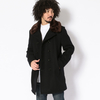 Schott DOUBLE BREST COAT BOA COLLOR 7586画像