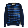 Jamieson's Argyle Crew Neck Sweater MK941画像