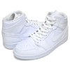 NIKE AIR JORDAN 1 MID white/white-wht 554724-126画像
