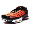 NIKE AIR MAX PLUS III BLACK/PIMENTO/BRIGHT CERAMIC/RESIN/WHITE/BLACK CD7005-001画像