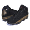 NIKE AIR JORDAN 13 RETRO BG black/gym red-light olive 884129-006画像