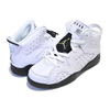 NIKE JORDAN 6 RETRO (PS) ALLIGATOR whitet/black-alligator 384666-110画像