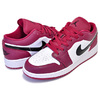 NIKE AIR JORDAN 1 LOW (GS) noble red/black-white 553560-604画像