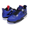 NIKE AIR JORDAN 4 RETRO WINTER (BG) loyal blue/black-white CQ9745-401画像