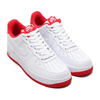 NIKE AIR FORCE 1 '07 1 WHITE/UNIVERSITY RED CD0884-101画像