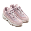 NIKE WMNS AIR MAX 95 BARELY ROSE/PLUM CHALK-SILVER LILAC CI3710-600画像