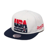 Mitchell & Ness 92 Team USA Basketball Snap Back WHITE 6HSSJS18183-USA画像
