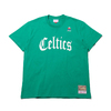 Mitchell & Ness Old English T-Shirts - BOS.Celtics GREEN SSTEEF18024-BCE画像
