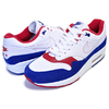 NIKE AIR MAX 1 USA white/white-deep royal blue CJ9927-100画像