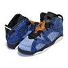 NIKE JORDAN 6 RETRO (PS) WASHED DENIM washed denim/black-sail CV5487-401画像