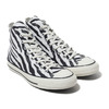 CONVERSE ALL STAR 100 ANIMALS HI ZEBRA 31301341画像