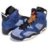 NIKE AIR JORDAN 6 RETRO WASHED DENIM washed denim/black-sail CT5350-401画像