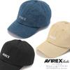 AVIREX AJUSTER LOGO CAP 6299000画像