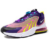 NIKE (WMNS) AIR MAX 270 REACT ENG EGGPLANT/WHITE/MAGIC FLAMINGO/PURPLE/LEMON VENOM CK2595-500画像