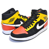 NIKE AIR JORDAN 1 MID SE ROSWELL RAYGUNS black/team orange-amarillo 852542-087画像