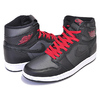 NIKE AIR JORDAN 1 HI OG BLACK SATIN black/gym red-black-white 555088-060画像