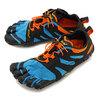 vibram FiveFingers V-Trail 2.0 Blue/Orange 19M7603画像