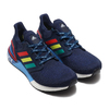 adidas ULTRABOOST 20 CITY PACK HYPE COLLEGE NAVY/GLORY RED/SHOCK YELLOW FX7811画像