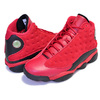 NIKE AIR JORDAN 13 RETRO SINGLES DAY gym red/black 888164-601画像