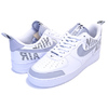 NIKE AIR FORCE 1 07 LV8 2 white/wolf grey-black BQ4421-100画像