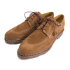 paraboot VELEY U-tip Shoes Velour Cognac画像