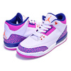 NIKE AIR JORDAN 3 RETRO (GS) barely grape/hyper crimson 441140-500画像