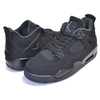 NIKE AIR JORDAN 4 RETRO (GS) BLACK CAT black/black-lt graphite 408452-010画像