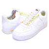 NIKE WMNS AIR FORCE 1 07 LX white/white-chrome yellow 898889-104画像