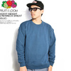 Fruit of the Loom HEAVY WEIGHT CREWNECK SWEAT -BLUE- 0123-002FL画像