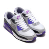 NIKE AIR MAX 90 WHITE/PARTICLE GREY-HYPER GRAPE-BLACK CD0881-104画像
