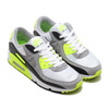 NIKE AIR MAX 90 WHITE/PARTICLE GREY-VOLT-BLACK CD0881-103画像