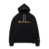 Champion × ATMOS LAB WRAP AIR P/O HOODED SWEATSHIRT BLACK C8-R105-090画像