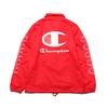 Champion × ATMOS LAB COACH JACKET SCARLET C8-R609-947画像