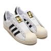 adidas SUPERSTAR LACELESS FOOTWEAR WHITE/CORE BLACK/FOOTWEAR WHITE FV3017画像