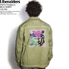 Liberaiders PSYCHEDELIC BDU SHIRT -OLIVE-画像