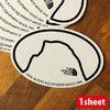 THE NORTH FACE TNF PRINT STICKER HD NN31710画像