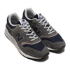 new balance CM997HAX GRAY/NAVY画像
