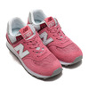 new balance WL574SOR ROSE RED画像